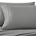 Wamsutta® 400-Thread-Count Sateen Queen Sheet Set in Grey