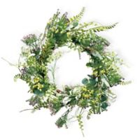 Boston International 20-inch Field Flowers Wreath