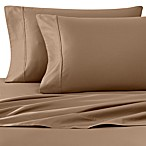 Wamsutta® 400-Thread-Count Sateen Queen Sheet Set in Canvas