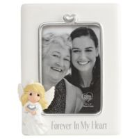 Precious Moments Forever in My Heart 4-Inch x 6-Inch Picture Frame in White
