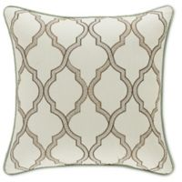 J. Queen New York Vienna™ 18-Inch Square Throw Pillow in Ivory