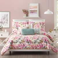 Jessica Simpson Bellisima Full/Queen Comforter Set in Pink