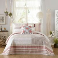Jessica Simpson Tannen Full/Queen Quilt in Red