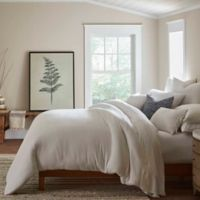 ED Ellen DeGeneres Vicente King Duvet Cover Set in White
