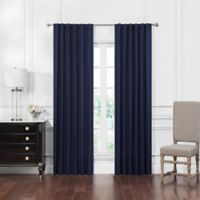 Waterford® Corra 84-Inch Back Tab Window Curtain Panel Pair in Indigo