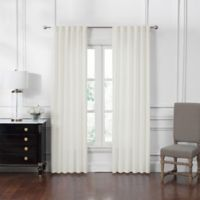 Waterford® Corra 84-Inch Back Tab Window Curtain Panel Pair in Cream