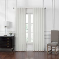 Waterford® Corra 84-Inch Back Tab Window Curtain Panel Pair in White