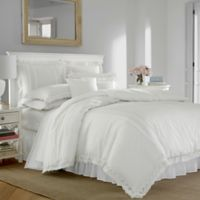 Laura Ashley® Annabella Full/Queen Comforter Set in White