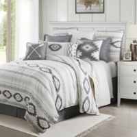 HiEnd Accents Free Spirit Reversible King Comforter Set