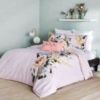 Ted Baker London Elegant King Duvet Cover Set in Pink