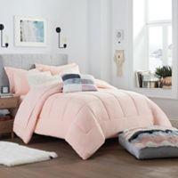 UGG® Devon Reversible Twin/Twin XL Comforter Set in Sunset