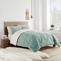 UGG® Avery Reversible Twin Comforter Set in Agave