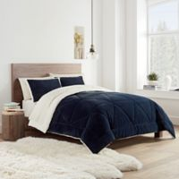 UGG® Avery Reversible Twin Comforter Set in Navy
