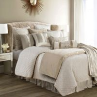 HiEnd Accents Fairfield Full Coverlet Set in Sand