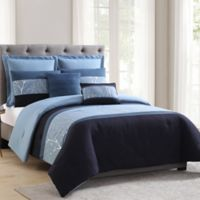 Morgan Home Madison Full/Queen Comforter Set in Blue