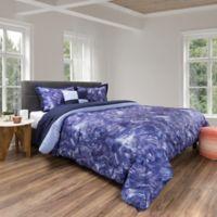 Nottingham Home 5-Piece Queen Comforter Set in Blue/Violet