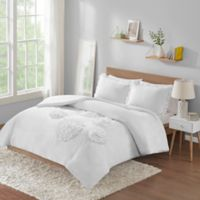 Intelligent Design Ella 2-Piece Twin Comforter Set in White