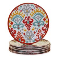 Certified International Bali Melamine Dinner Plates (Set of 6)