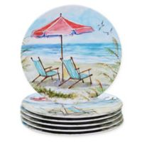 Certified International Ocean View Dinner Plates (Set of 6)