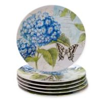 Certified International Hydrangea Garden Dinner Plates (Set of 6)