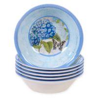 Certified International Hydrangea Garden Bowls (Set of 6)