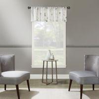 Blossom Embroidery Window Valance