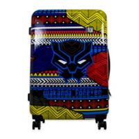 ful® Marvel® Black Panther Tribal Art 25-Inch Hard Sided Expandable Spinner Suitcase