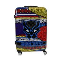 ful® Marvel® Black Panther Tribal Art 29-Inch Hard Sided Expandable Spinner Suitcase