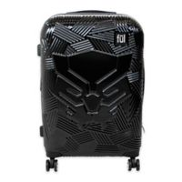 ful® Marvel® Black Panther Icon 25-Inch Expandable Spinner Suitcase in Black