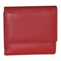 Buxton® Florence II Mini Billfold Wallet in Red