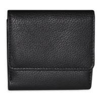 Buxton® Florence II Mini Billfold Wallet in Black