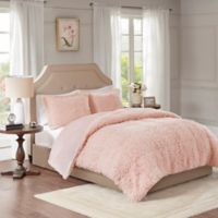 Madison Park Nova Full/Queen Comforter Set in Blush