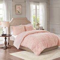 Madison Park Nova Twin Comforter Set in Blush