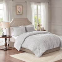 Madison Park Nova Full/Queen Comforter Set in Grey