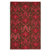"""Nourison Siam 5'6"""" x 7'5"""" Hand Tufted Area Rug in Brown/Red"""