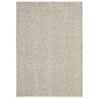 Nourison Nepal Bengal 3-Foot 6-Inch x 5 Foot 6-Inch Area Rug in Quartz