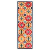 Jaipur Living 2'6 x 8' Indoor/Outdoor Multicolor Runner