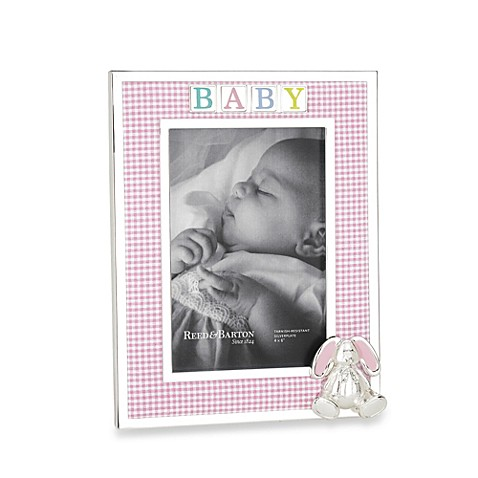 Reed & Barton Baby Picture Frames