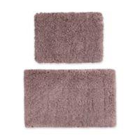 510 Design 2-Piece Annie Bath Rug Set in Dusty Purple