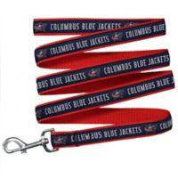 NHL Columbus Blue Jackets Large Nylon Pet Leash