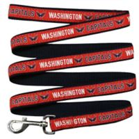 NHL Washington Capitals Medium Nylon Pet Leash