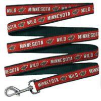 NHL Minnesota Wild Large Nylon Pet Leash