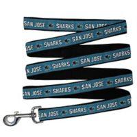 NHL San Jose Sharks Large Nylon Pet Leash