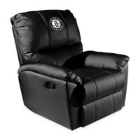 NBA Brooklyn Nets Rocker Recliner with Alternate Logo