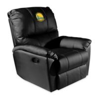 NBA Golden State Warriors Rocker Recliner with Alternate Logo