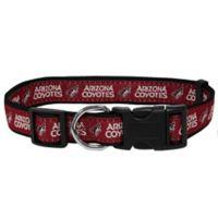 NHL Arizona Coyotes Large Dog Collar
