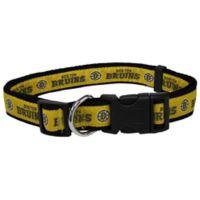 NHL Boston Bruins Large Dog Collar