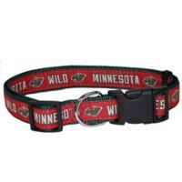 NHL Minnesota Wild Large Dog Collar