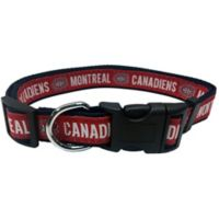 NHL Montreal Canadiens Large Dog Collar