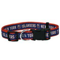 NHL New York Islanders Medium Dog Collar